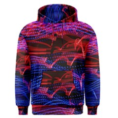 Lights Abstract Curves Long Exposure Men s Pullover Hoodie