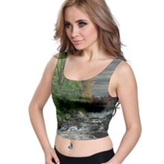 Landscape Summer Fall Colors Mill Crop Top