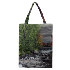 Landscape Summer Fall Colors Mill Classic Tote Bag