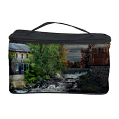 Landscape Summer Fall Colors Mill Cosmetic Storage Case