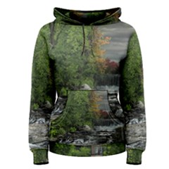 Landscape Summer Fall Colors Mill Women s Pullover Hoodie