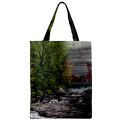 Landscape Summer Fall Colors Mill Zipper Classic Tote Bag