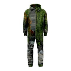 Landscape Summer Fall Colors Mill Hooded Jumpsuit (kids)