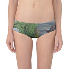 Landscape Summer Fall Colors Mill Classic Bikini Bottoms