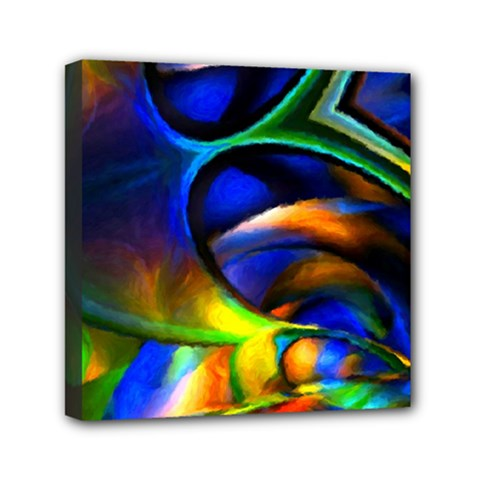Light Texture Abstract Background Mini Canvas 6  X 6