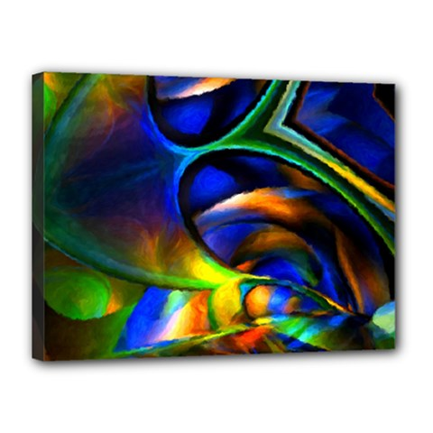 Light Texture Abstract Background Canvas 16  X 12