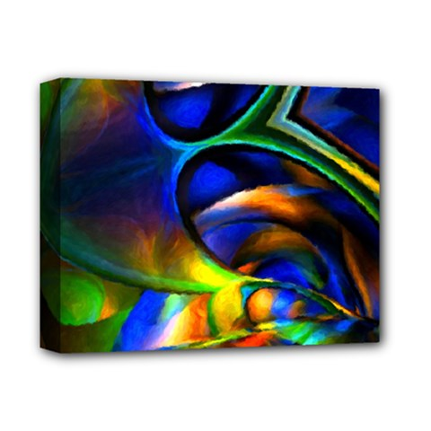 Light Texture Abstract Background Deluxe Canvas 14  X 11