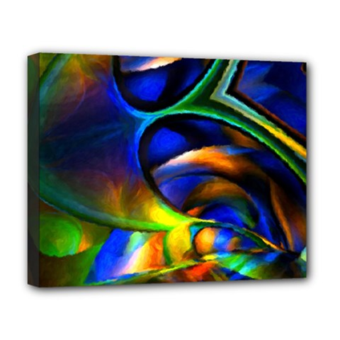 Light Texture Abstract Background Deluxe Canvas 20  X 16