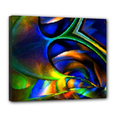 Light Texture Abstract Background Deluxe Canvas 24  X 20