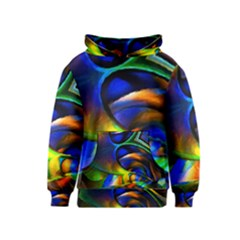 Light Texture Abstract Background Kids  Pullover Hoodie