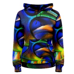 Light Texture Abstract Background Women s Pullover Hoodie