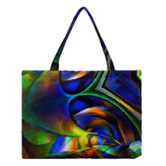 Light Texture Abstract Background Medium Tote Bag