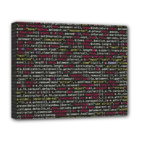 Full Frame Shot Of Abstract Pattern Deluxe Canvas 20  X 16