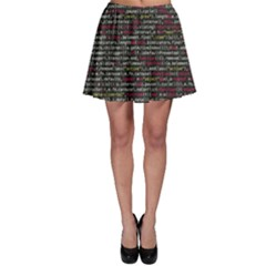 Full Frame Shot Of Abstract Pattern Skater Skirt