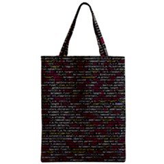 Full Frame Shot Of Abstract Pattern Classic Tote Bag