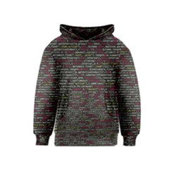 Full Frame Shot Of Abstract Pattern Kids  Pullover Hoodie
