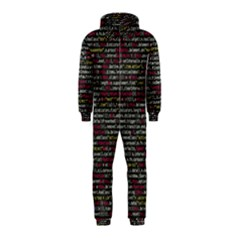 Full Frame Shot Of Abstract Pattern Hooded Jumpsuit (kids)