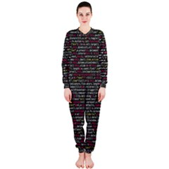 Full Frame Shot Of Abstract Pattern Onepiece Jumpsuit (ladies)