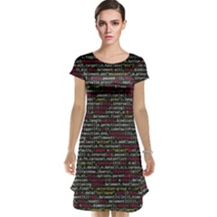 Full Frame Shot Of Abstract Pattern Cap Sleeve Nightdress