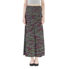 Full Frame Shot Of Abstract Pattern Maxi Skirts