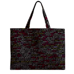 Full Frame Shot Of Abstract Pattern Medium Tote Bag