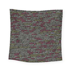Full Frame Shot Of Abstract Pattern Square Tapestry (small)