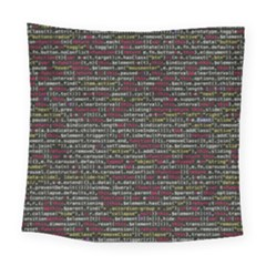 Full Frame Shot Of Abstract Pattern Square Tapestry (large)