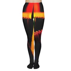 Plastic Brush Color Yellow Red Women s Tights