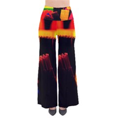 Plastic Brush Color Yellow Red Pants