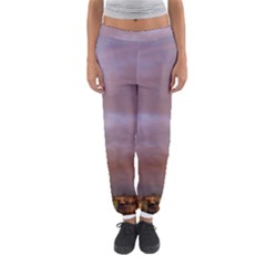 Rain Rainbow Pink Clouds Women s Jogger Sweatpants