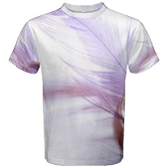 Ring Feather Marriage Pink Gold Men s Cotton Tee