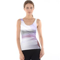 Ring Feather Marriage Pink Gold Tank Top