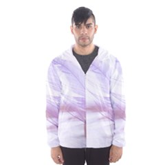 Ring Feather Marriage Pink Gold Hooded Wind Breaker (men)