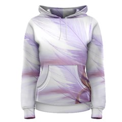 Ring Feather Marriage Pink Gold Women s Pullover Hoodie