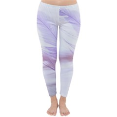 Ring Feather Marriage Pink Gold Classic Winter Leggings