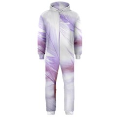 Ring Feather Marriage Pink Gold Hooded Jumpsuit (men)