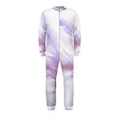Ring Feather Marriage Pink Gold Onepiece Jumpsuit (kids)