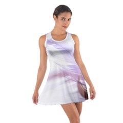 Ring Feather Marriage Pink Gold Cotton Racerback Dress