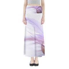 Ring Feather Marriage Pink Gold Maxi Skirts