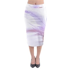 Ring Feather Marriage Pink Gold Midi Pencil Skirt