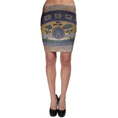 Peace Monument Werder Mountain Bodycon Skirt
