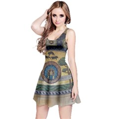 Peace Monument Werder Mountain Reversible Sleeveless Dress