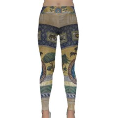Peace Monument Werder Mountain Classic Yoga Leggings