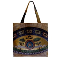 Peace Monument Werder Mountain Zipper Grocery Tote Bag