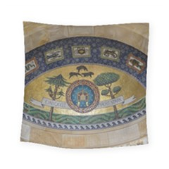 Peace Monument Werder Mountain Square Tapestry (small)