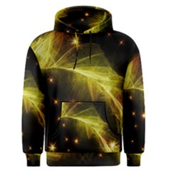 Particles Vibration Line Wave Men s Pullover Hoodie