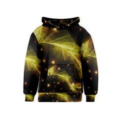 Particles Vibration Line Wave Kids  Pullover Hoodie