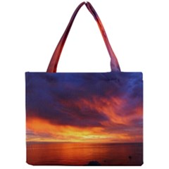 Sunset The Pacific Ocean Evening Mini Tote Bag