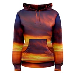 Sunset The Pacific Ocean Evening Women s Pullover Hoodie