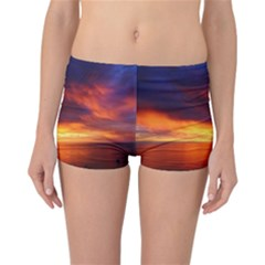 Sunset The Pacific Ocean Evening Reversible Bikini Bottoms